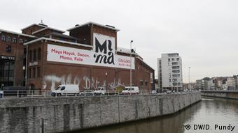 The MIMA along the canal in Molenbeek Copyright: DW/D. Pundy