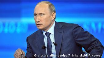 Russian Präsident Vladimir Putin