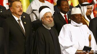 حسن روحانی رئیس جمهور ایران: «عربستان و ایران مشکل یکدیگر نیستند»