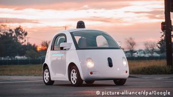 Protótipo de carro automático da Google
