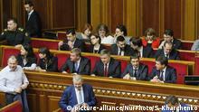 Ukraine Parlamentssitzung