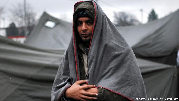 Bulgarien Syrischer Flüchtling in Harmanli