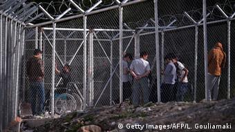 Griechenland Haftanstalt auf Chios