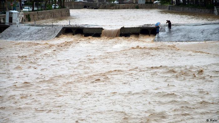 Iran Hochwasser in Khuzestan (Mehr)