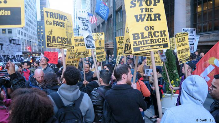 USA Demonstration, Donald Trump in New York