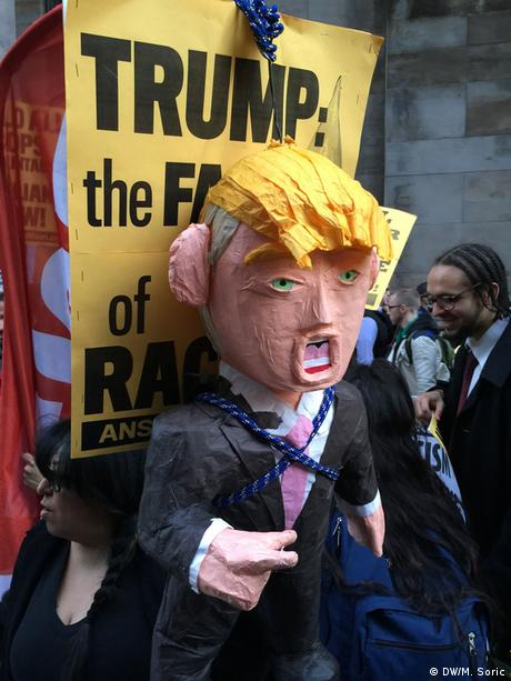 USA Demonstration gegen Donald Trump in New York