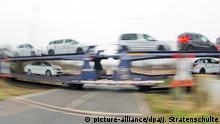 Deutschland Transport Neuwagen von Peugeot