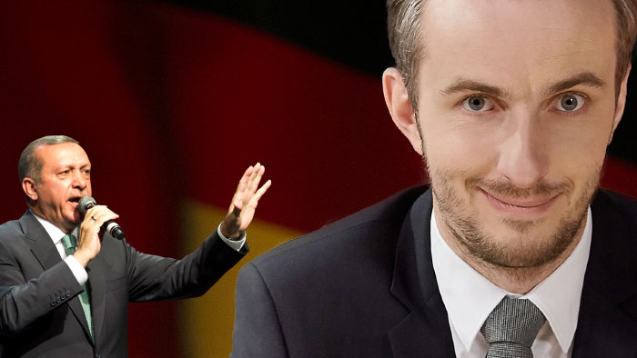 Jan Böhmermann and Recep Tayyip Erdogan, Copyright: DW