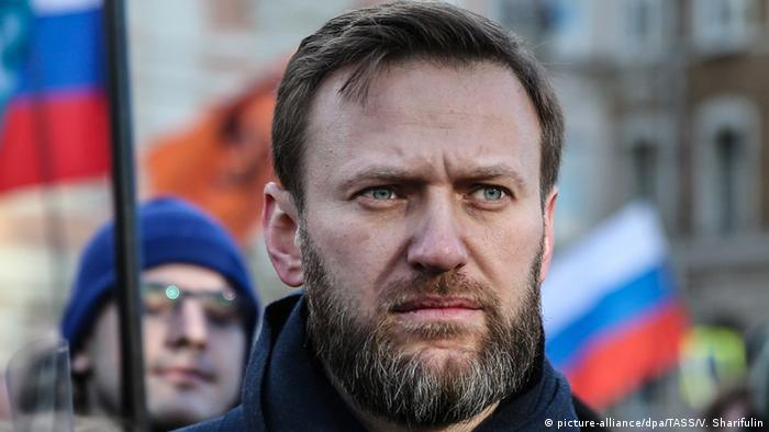 Russland Alexei Navalny in Moskau (picture-alliance/dpa/TASS/V. Sharifulin)