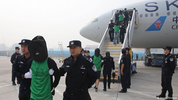 China Abschiebung von Taiwanesen aus Kenia