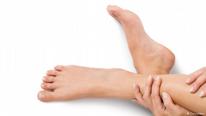 Нога и рука