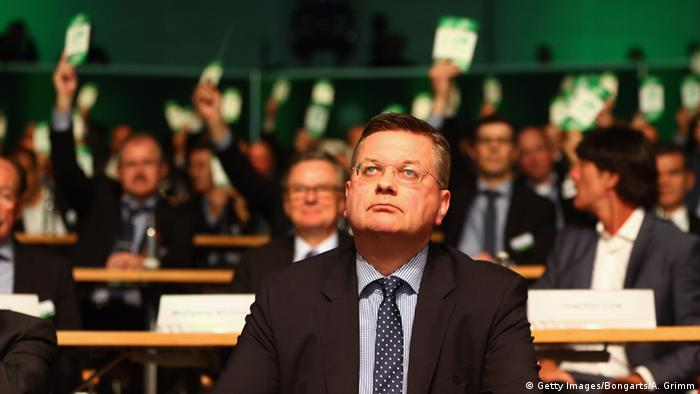 DFB votes in lone candidate Reinhard Grindel as new president ...
