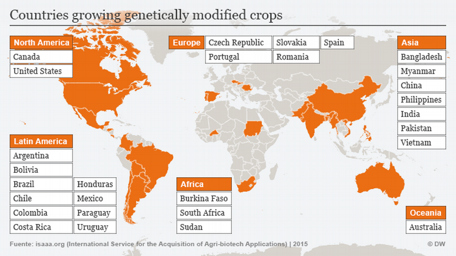 Global GMO cultivation dipped in 2015 | Environment| All