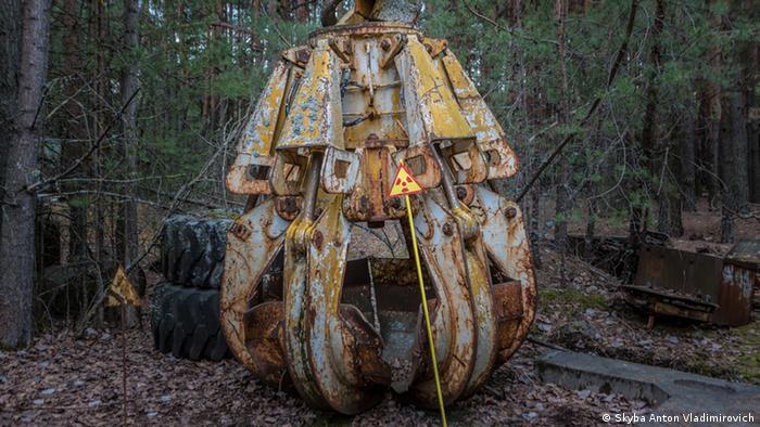 Ковш смерти - приспособление, которое использовалось при ликвидации последствий аварии на 4-м энергоблоке ЧАЭС