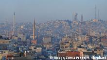 Türkei Gaziantep Blick auf Stadt
