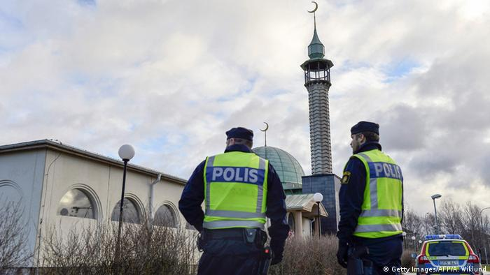 Symbolbild Moschee in Schweden (Getty Images/AFP/A. Wiklund)