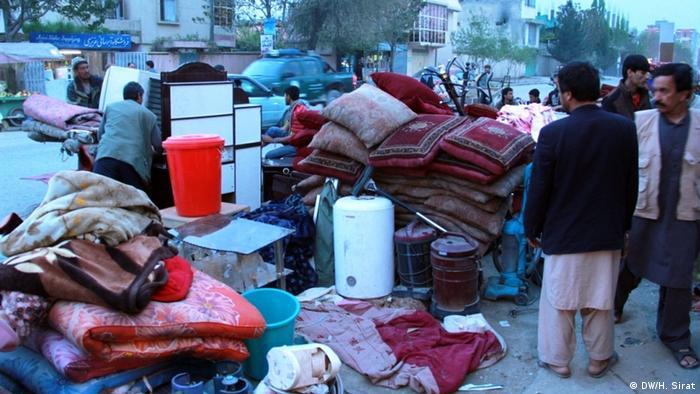 Рынок в Афганистане