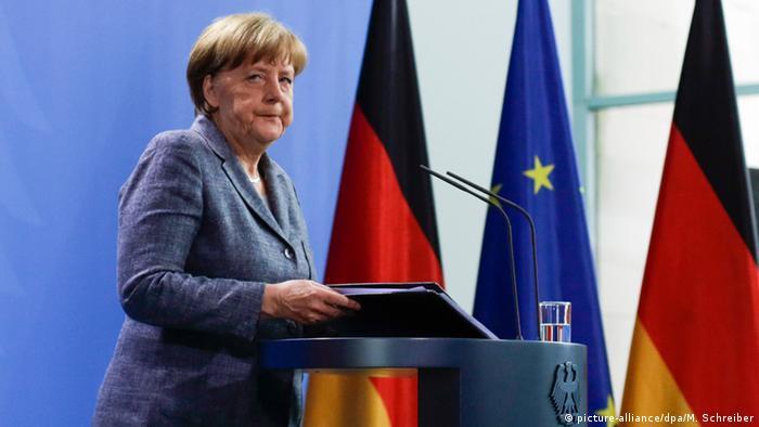 Deutschland Angela Merkel äußert sich zum Fall Jan Böhmermann