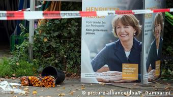 Το σημείο όπου δέχθηκε επίθεση η Ενριέτε Ρέκερ στην Κολωνία