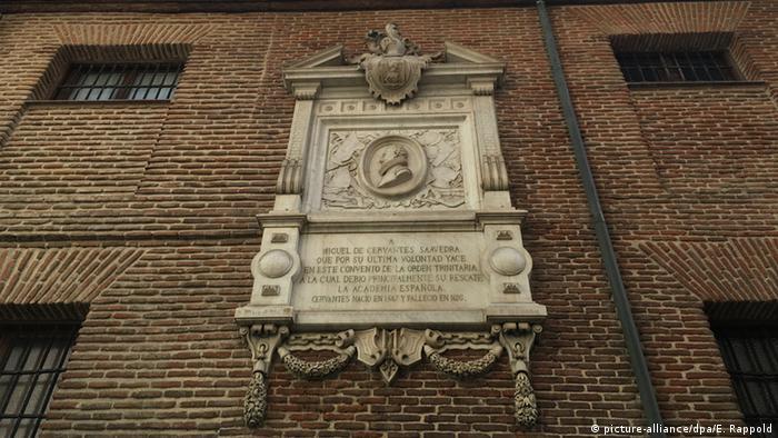 Miguel de Cervantes spanischer Schriftsteller letzte Ruhstätte