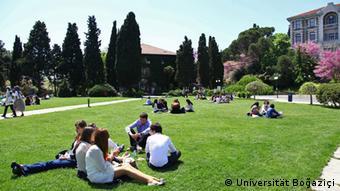 Φοιτητές στο πανεπιστήμιο Μποασιτσί της Κωνσταντινούπολης