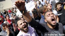 Ägypten Proteste gegen die Übergabe von zwei Inseln