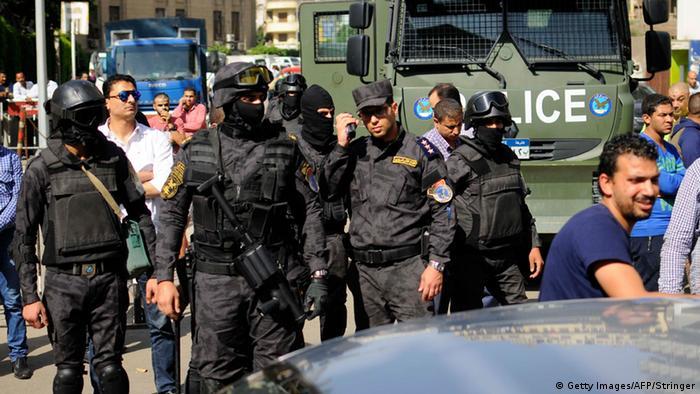 Egipatski policajci u Kairu kod nemira zbog predaje otoka 2016.