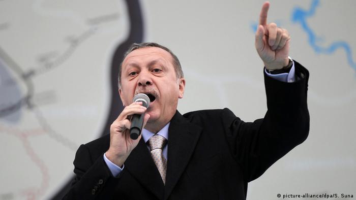 Türkischer Präsident Recep Tayyip Erdogan (foto: dpa)