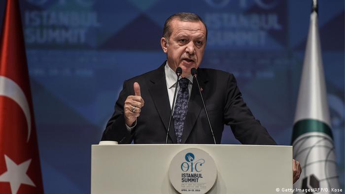 Türkei Gipfeltreffen der Organisation für Islamische Zusammenarbeit in Istanbul (Getty Images/AFP/O. Kose)