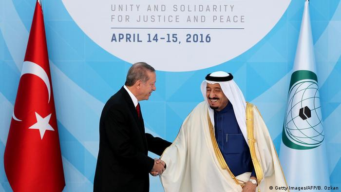 Türkei Gipfeltreffen der Organisation für Islamische Zusammenarbeit in Istanbul (Getty Images/AFP/B. Ozkan)