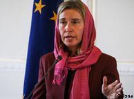Федеріка Могеріні під час візиту до Тегерану (фото з архіву)