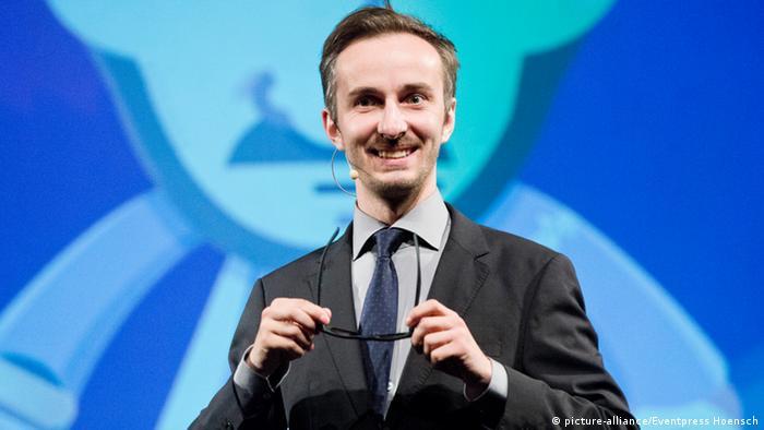 German comedian Jan Böhmermann (Photo: picture-alliance/Eventpress Hoensch)