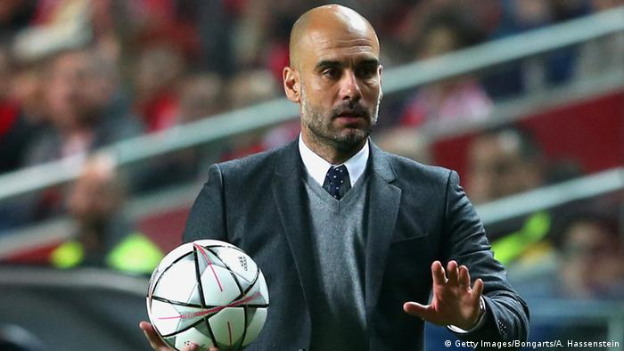 Trainer Josep Guardiola (Getty Images/Bongarts/A. Hassenstein)