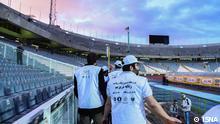 Iran Nach dem Teheran Fussball Derby im Azadi Stadion