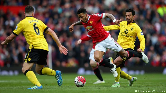 Fußball Premier League Manchester United - Aston Villa