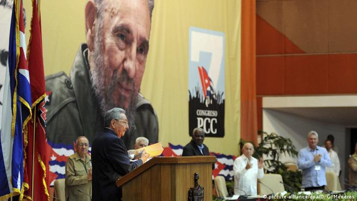 Kuba Kongress der Kommunistischen Partei Raul Castro