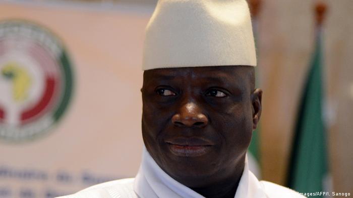 Gambias Präsident Yahya Jammeh ist seit mehr als 20 Jahren an der Macht. Im Dezember will er für eine weitere Amtszeit kandidieren. (Foto: Getty Images/AFP/I. Sanogo)