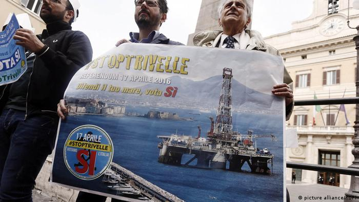 Italy oil and gas referendum