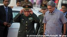 China Fan Changlong & Manohar Parrikar, Verteidigungsminister Indien
