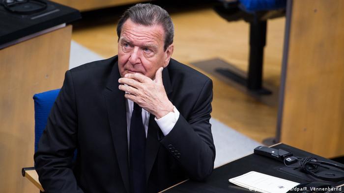 Екс-канцлер Німеччини Ґергард Шредер