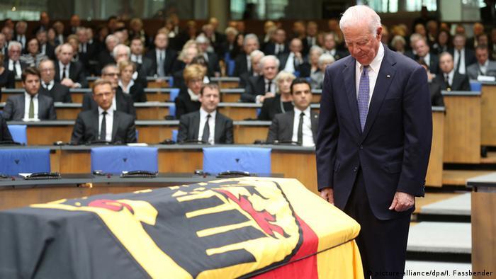 Deutschland Staatsakt für Hans-Dietrich Genscher in Bonn