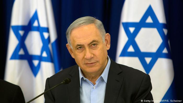 Golanhöhen israelischer Ministerpräsident Benjamin Netanjahu