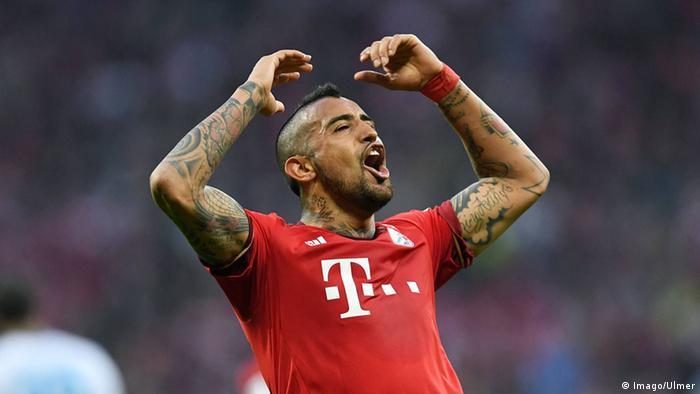 Bundesliga FC Bayern Muenchen - FC Schalke 04 Arturo Vidal