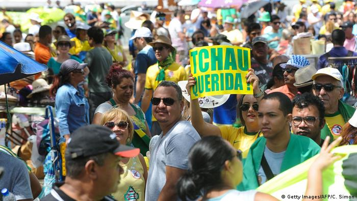 Brasilien Proteste Amtsenthebung Rousseff Brasilia