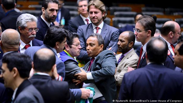 Brasilien Brasilia Nationalkongress Abgeordnete Debatte