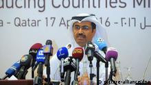 Katar Doha PK Energieminister Saleh al-Sada