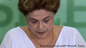 Brasilien Präsidentin Dilma Rousseff in Brasilia