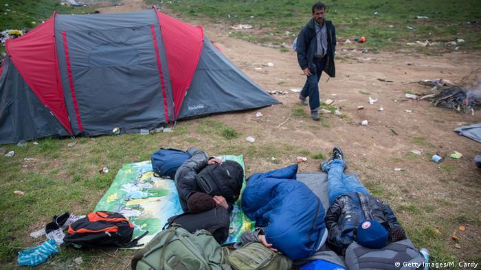 Izbjeglice u Idomeni