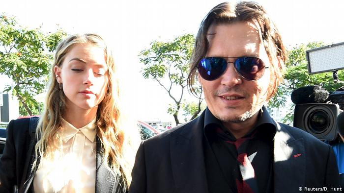 Australien Amber Heard und Johnny Depp vor Gericht in Southport