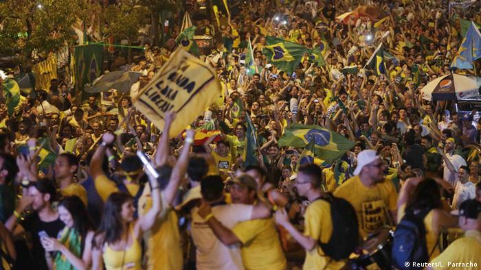 Anti-Rousseff celebration